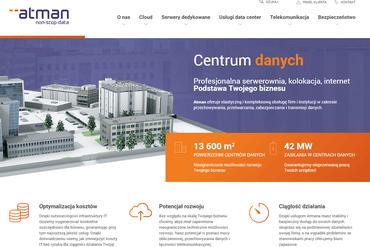 Atman z nową stroną i platformą sprzedaży online