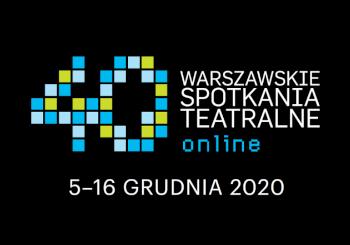 Logo 40. Warszawskich Spotkań Teatralnych