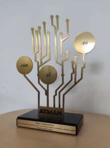 Nagroda Ekspert Bezpieczeństwa - statuetka